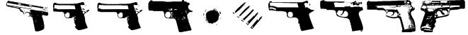 GUNBATS Font
