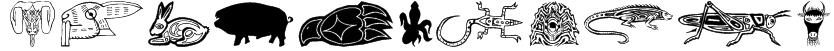 TribalFigTwo Font