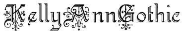 KellyAnnGothic Font