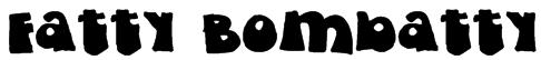 Fatty Bombatty Font