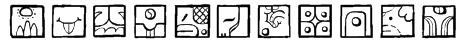 MAIA ideograph Font
