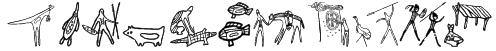 Aboriginebats One Font