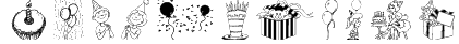 Birthdaze Font