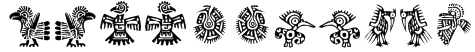 Mexican Ornaments Font