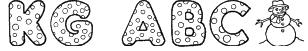 KG ABCs Font