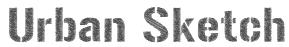 Urban Sketch Font