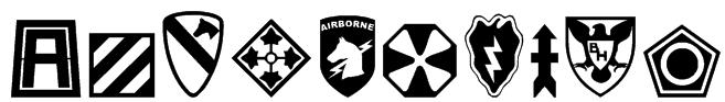 US Army II Font