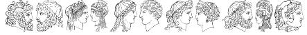 Ancient Heads Font