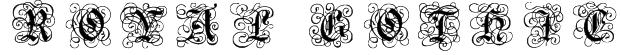 RoyalGothic Font