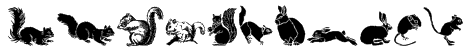 WWFurryFriends Font