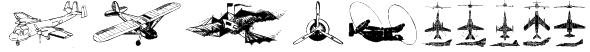 Aircraft2 Font