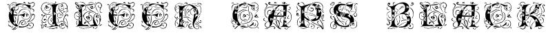Eileen Caps Black Font