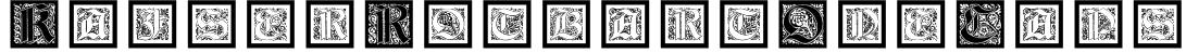 KaiserRotbartOneCaps Font