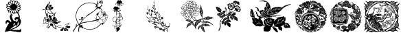 Floral 1 Font