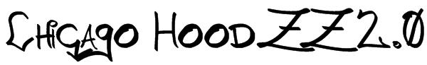 Chicago HoodZZ 2.0 Font