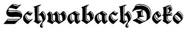 SchwabachDeko Font