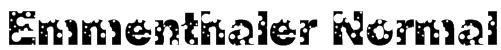 Emmenthaler Normal Font