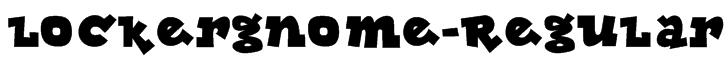 Lockergnome-Regular Font