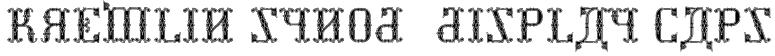 Kremlin Synod (Display Caps) Font