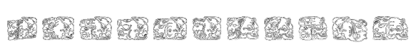 Spirit of Montezuma Five Font