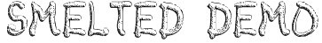 Smelted Demo Font