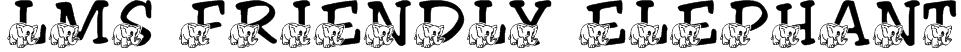 LMS Friendly Elephant Font