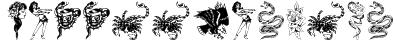 TattooParlour Font