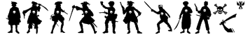 PiratesThree Font