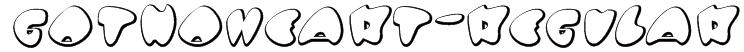 GotNoHeart-Regular Font
