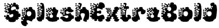 SplashExtraBold Font