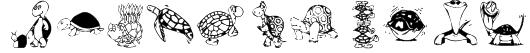 KR Turtles For Julie Font