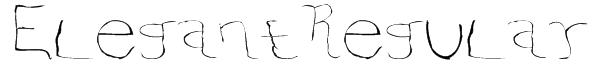 ElegantRegular Font