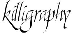 Killigraphy Font