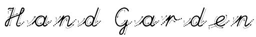 Hand Garden Font