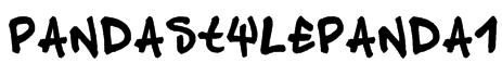 pandastylepanda1 Font