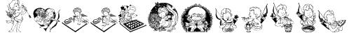 LCR Cutesy Cupid Font