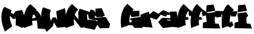 MAWNS Graffiti Font