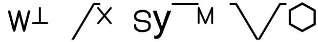 WeldSymbols Font