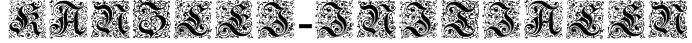 Kanzlei-Initialen Font