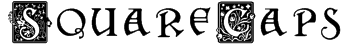 SquareCaps Font