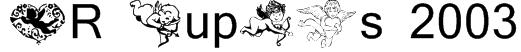 KR Cupids 2003 Font