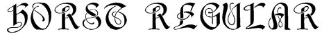 Horst Regular Font