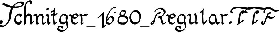 Schnitger_1680_Regular.TTF Font