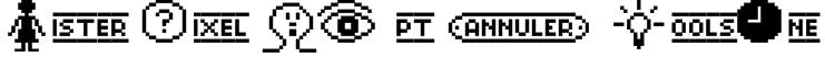 Mister Pixel 16 pt - ToolsOne Font
