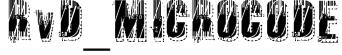 RvD_MICROCODE Font