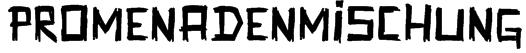Promenadenmischung Font