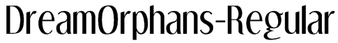 DreamOrphans-Regular Font