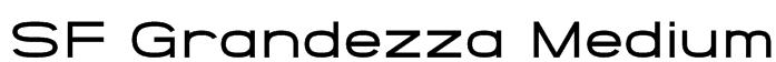 SF Grandezza Medium Font