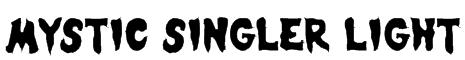 Mystic Singler Light Font