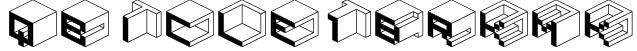 Qbicle1BRKMK Font
